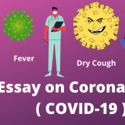 Essay on Coronavirus ( COVID-19 ) in English