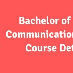 BMC (Bachelor of Mass Communication) Course