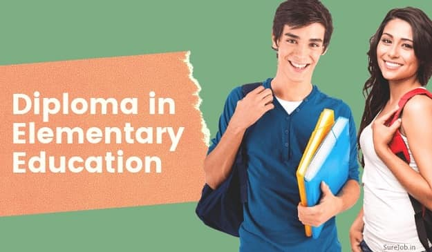Education Diploma in Elementary Education (D.El.Ed) Course